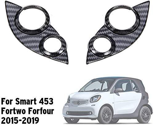LGNB Abs Auto Lenkrad Taste Abdeckung Audio Tempomat Schalter Dekorative Trim Aufkleber Für Smart 453 Fortwo Forfour
