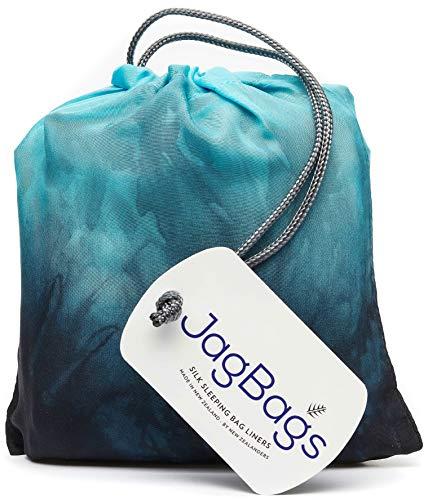 JagBag Deluxe Pure Silk Sleeping Bag Liner (Midnight)