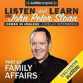Family affairs 2 (Lesson 12) copertina