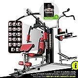 Sportstech Station de Musculation Multifonction Premium 45en1 HGX100/HGX200, Appareil Musculation Variantes d'entraînement. Home-Gym Multifonction, Station de Fitness, Construction Robuste