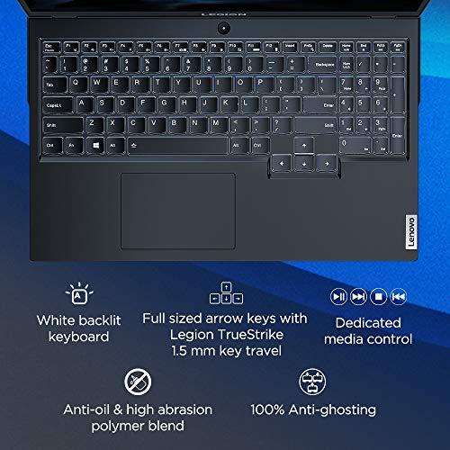 Lenovo Legion 5 AMD Ryzen 7 15.6 inch Full HD IPS Gaming Laptop (16GB/512GB SSD/Windows 10/120 Hz/NVIDIA GTX 1650 4GB GDDR6 Graphics/Phantom Black/2.3Kg), 82B500RPIN