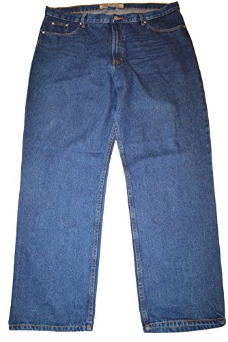 Full Blue Big and Tall Relaxed Fit Jean