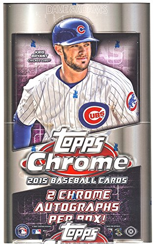 Topps 2015 Chrome Baseball Hobby Box MLB
