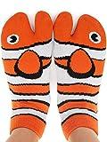 Funny Novelty Socks - Fishy Feet, Perfect Stocking Stuffer, Secret Santa Gift, White Elephant Gift Idea - Unisex - Great Gift for Teenagers, Men or Women