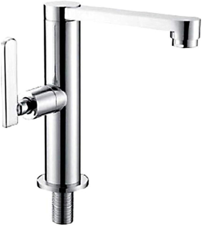 Taps Mixer?Swivel?Faucet Sink Single Cold Basin Faucet Washbasin Faucet redatable Basin Faucet Single Cold Faucet
