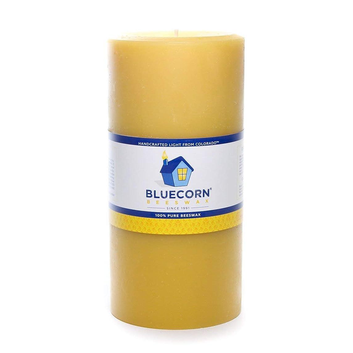 Bluecorn Beeswax 100% Pure Raw Beeswax Pillar: 4