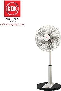 KDK PL30H Living Fan with 30cm Plastic Blade, Black