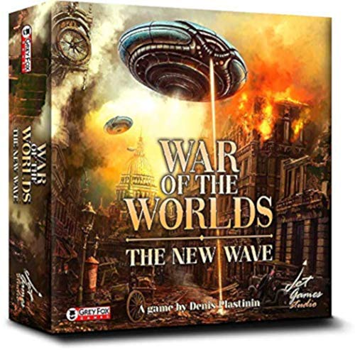 War of The Worlds: The New Wave Board Game Now $18.56 (Was $34.99)