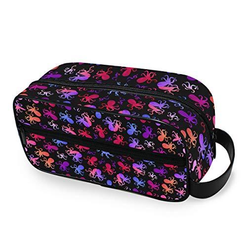 Stockage de voyage Portable Little Octopus Tools Cosmetic Train Case Makeup Bag Fashion Toiletry Pouch