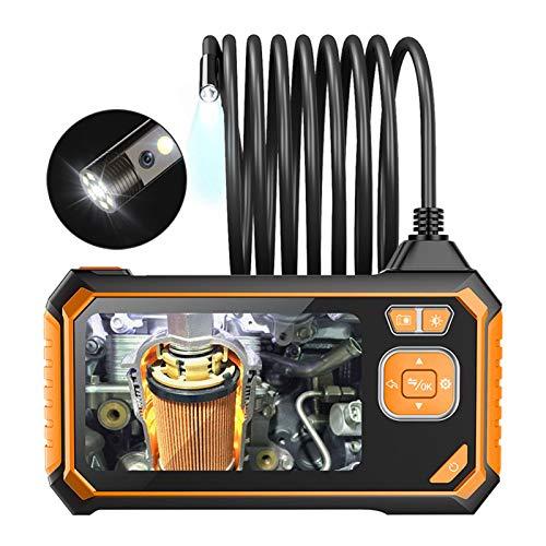 Endoscopio de tubería, luces LED ajustables HD 1080P Endoscopio digital de 8 mm, para mantenimiento de detección de tuberías(1m, Pisa Leaning Tower Type)