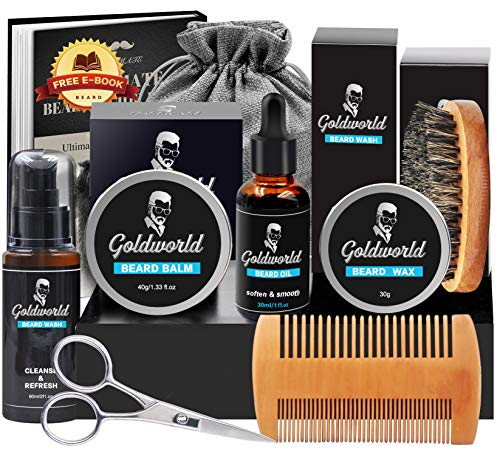 Kit cuidado de barba GoldWorld