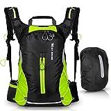 ICOCOPRO - Zaino da bicicletta, leggero, impermeabile, con protezione antipioggia, per corsa, escursionismo, ciclismo, arrampicata, campeggio, ciclismo