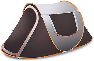 WBHD Tipi-tält vuxna fälltält utomhus pop-up öppnas snabbt tält camping vandring stora framställe för utomhussporter campi...
