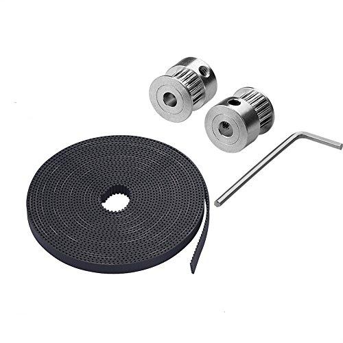 ARCELI 5m GT2-6mm open timing belt 6mm GT2 2GT belt for 3D Printer timing Belt