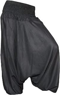 PANASIAM Aladdin Pants, Haremshose, der Klassiker, Körpergröße von 1,80m, Hier in 16, Qualitätsprodukt, super weich & luftig