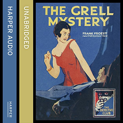 The Grell Mystery audiobook cover art