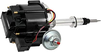 Assault Racing Products 1029212 Chevy Inline 6 Cylinder Black Ready to Run One Wire HEI Distributor 250 292
