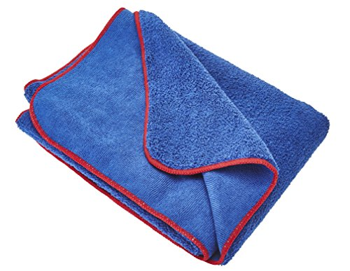 Gtechniq MF2 Microfibre Drying Towel - Ultra Soft, Super Absorbent, 450GSM Short Pile Wicks Away Water, Reduces Marring and Gloss...