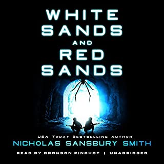 White Sands and Red Sands audiobook cover art