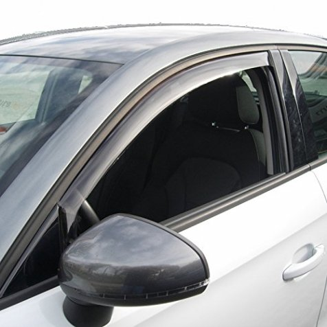 Farad - Deflectores de Viento para Dacia Sandero y Sandero Stepway de 5Puertas del 2008–2013.