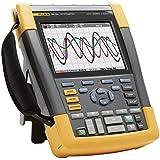 Fluke 190–204/EU/S, de mano de 4canales osciloscopio, Ancho de banda 200MHz, Scope metros® 190Serie II, incluye software Case Kit scc2