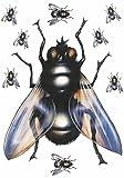 Aufkleber Fliegen-Sortiment 9 Stück ~~~~~ schneller Versand innerhalb 24 Stunden ~~~~~