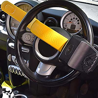 Stoplock /'Pro Elite/' Steering Wheel Lock For Cars Secure Anti-Theft Device