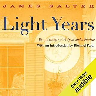 Light Years audiobook cover art