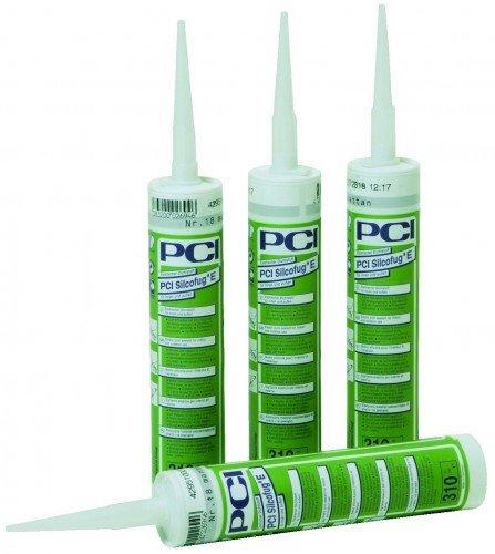 PCI Silcofug® E Elastischer Dichtstoff 310 ml - 47 Anthrazit - Widerstandsfähig gegen Witterungseinflüsse und UV-Strahlen