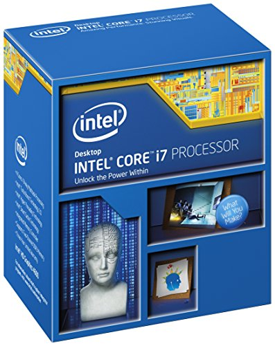 Intel Core i7-5820K - Procesador (Intel Core i7-5xxx, 3,3 GHz, LGA 2011-v3, 64 GB, 1333, 1600, 2133 MHz, 68 GB/s)