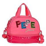 Pepe Jeans Kim Bolsa Térmica Porta Alimentos Rosa 25x19x15 cms Poliéster