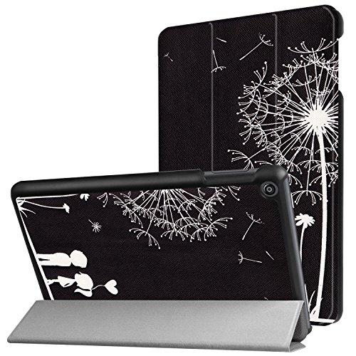 Lobwerk Case fur Amazon Fire HD 8 201620172018 8 Zoll Tablet Schutzhulle Smart Cover Hulle mit Auto SleepWake