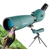 Best Hunting Spotting Scopes - Spotting Scope 20-60X80 Waterproof Birdwatching Monocular HD Review