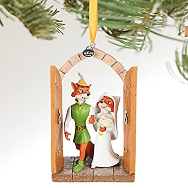 Disney Robin Hood and Maid Marian Sketchbook Ornament