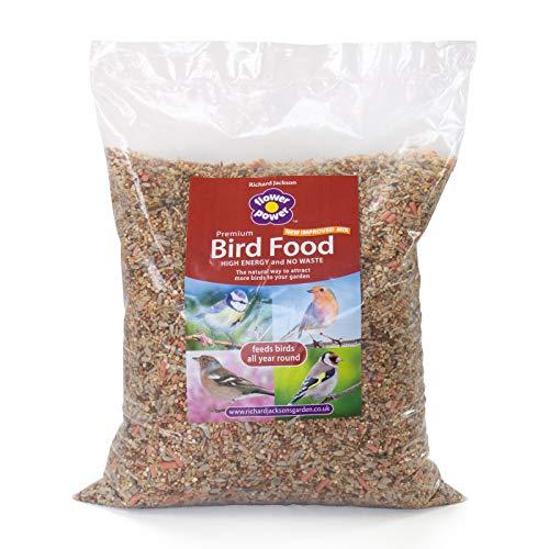 Flower Power Bird Food in 5kg Bag - Richard Jackson's Garden