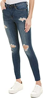 Blank NYC Womens The Bond Alter Ego Mid Rise Skinny Jean, 25, Blue