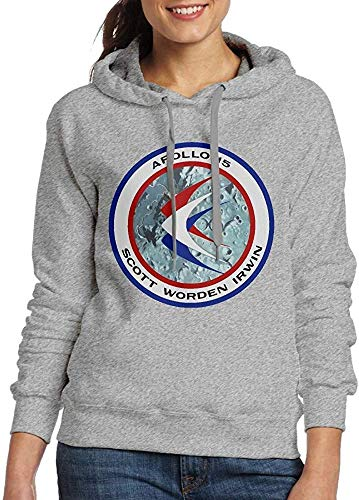 LMNcrop Apollo 15 Insignia Women's Casual Adult Long Sleeve Sweater