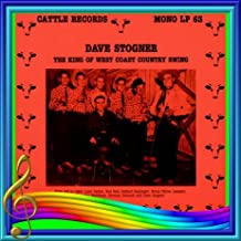 DAVE STOGNER - king of west coast country swing CATTLE 63 (LP vinyl record)