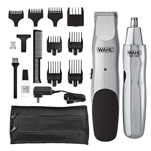 Wahl Groomsman Cord Cordless Beard, Mustache Hair & Nose Hair Trimmer for Detailing & Grooming - Model 5623