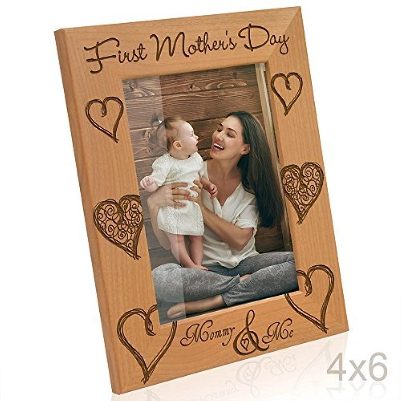 幾分最大のセッティングKate Posh - First Mother's Day with Mommy & Me Picture Frame (4x6 - Vertical) [並行輸入品]