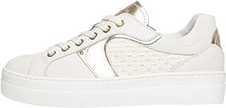 Nero Giardini E010672D Sneakers Femme en Cuir Et Toile