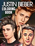 Justin Bieber Coloring Book: Special Bunch Of Justin Bieber Illustrations With Good Layout For All Fans. A Lot Of Flawless Justin Bieber Images For Reduce Stress And Balance Brain