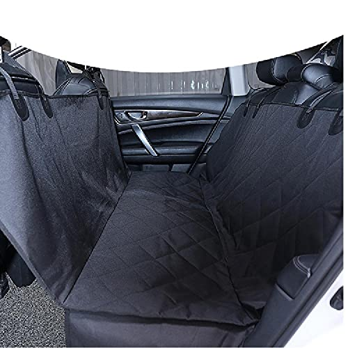 Dog Car Seat Cover, Dog Hammock, Waterproof, Washable And Non-slip Lining 4-layer Padded Heavy Duty Anti-scratch Non-slip Dog Car Seat,Black