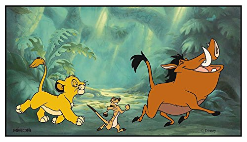 Disney 32624 Sonnenschutz für die Heckscheibe, 90cmx50cm, Motiv: König der Löwen