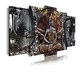 DekoArte 83 - Cuadros Modernos Impresión de Imagen Artística Digitalizada | Lienzo...