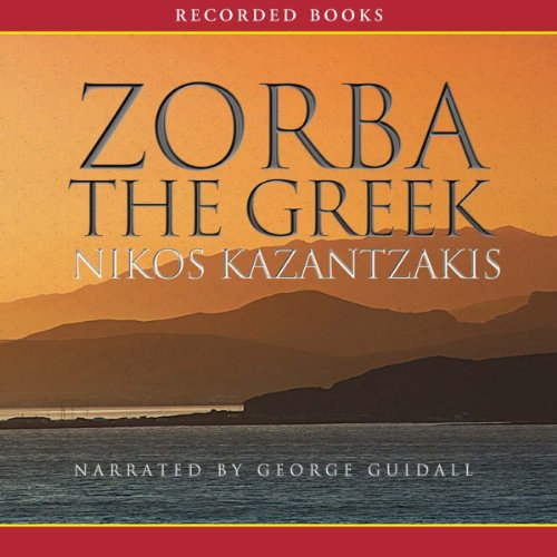 Zorba the Greek audiobook cover art