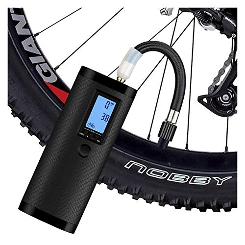Inflador de neumáticos del compresor de aire Bicicleta eléctrica para bicicletas inteligentes Bomba de aire de aire de aire de aire de aire de 12V Bomba de aire de neumáticos sin cable para bicicletas