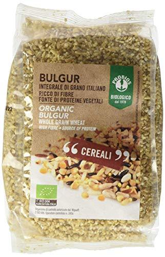 Bulgur integrale di grano italiano 400g biologico