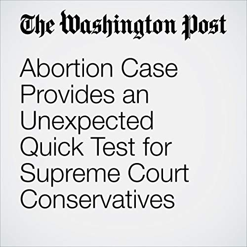 Abortion Case Provides an Unexpected Quick Test for Supreme Court Conservatives                   著者:                                                                                                                                 Robert Barnes                               ナレーター:                                                                                                                                 Jenny Hoops                      再生時間: 8 分     レビューはまだありません。     総合評価 0.0
