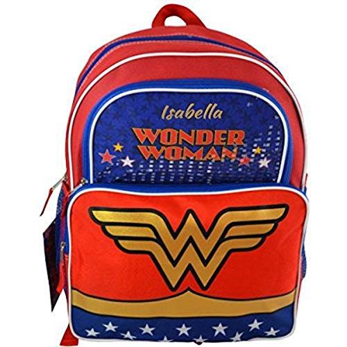 Personalized Superhero Backpacks (Wonder Woman)